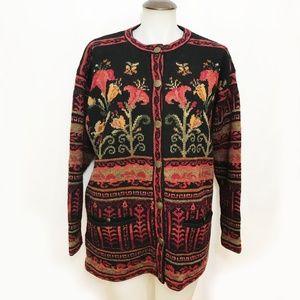 Wool Icelandic Sweater Jacket 🌻